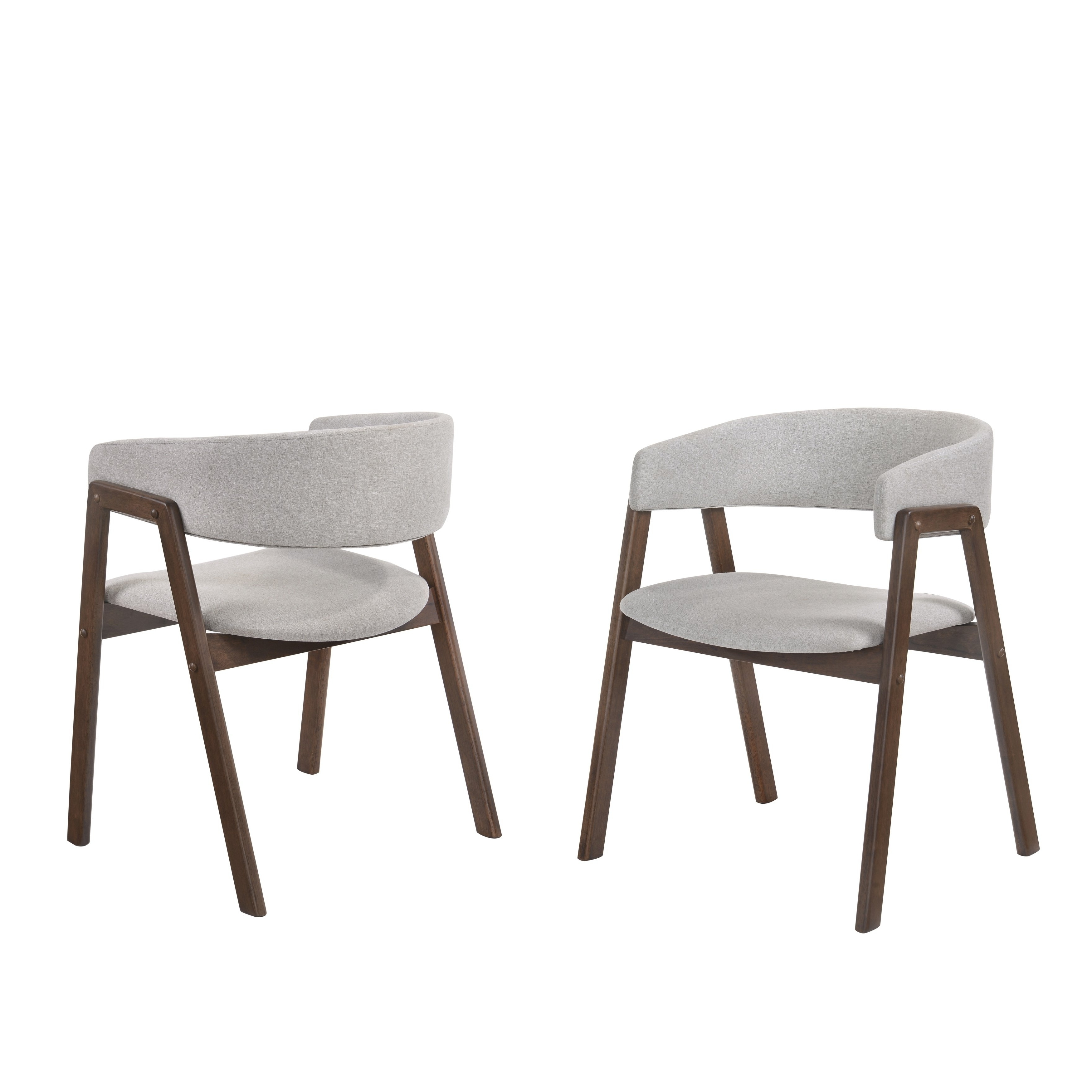 Shop Omax Decor Brooklyn Dining Side Chair (set Of 2) – On Sale For Popular Amos Side Chairs (View 7 of 20)