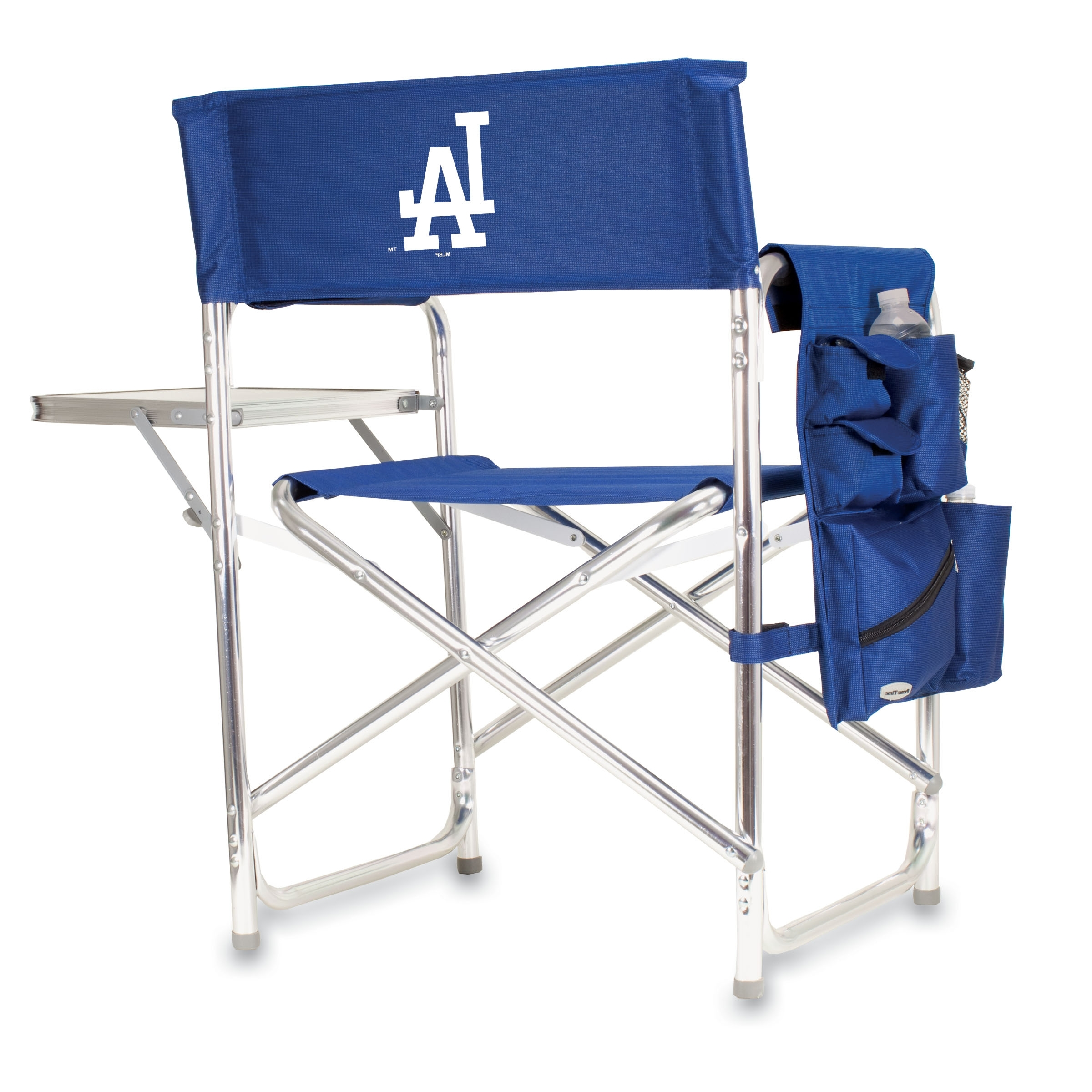 Sports Chair – Navy (Los Angeles Dodgers) Digital Print – Picnic Regarding Newest Dodger Side Chairs (View 16 of 20)