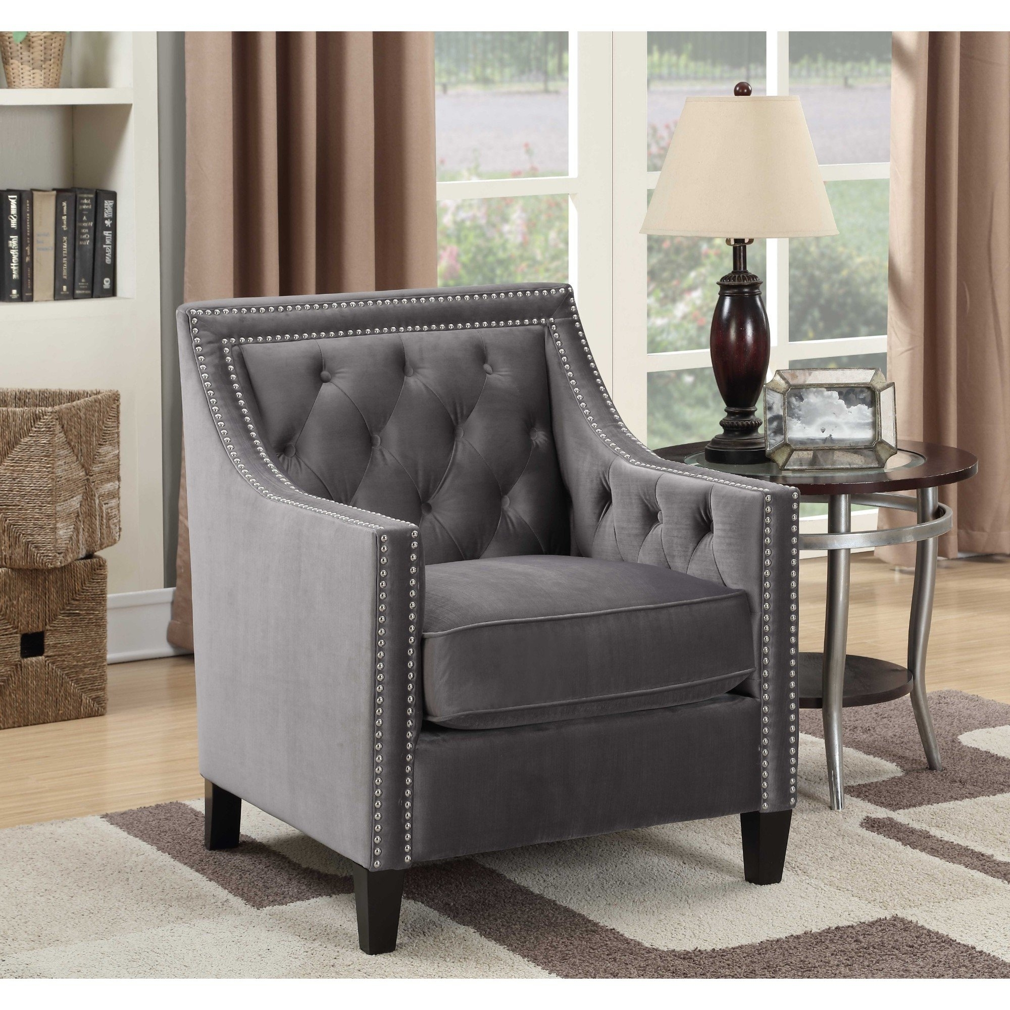 Teagan Side Chairs Within Famous Shop Picket House Furnishings Teagan Accent Chair – Free Shipping (View 9 of 20)