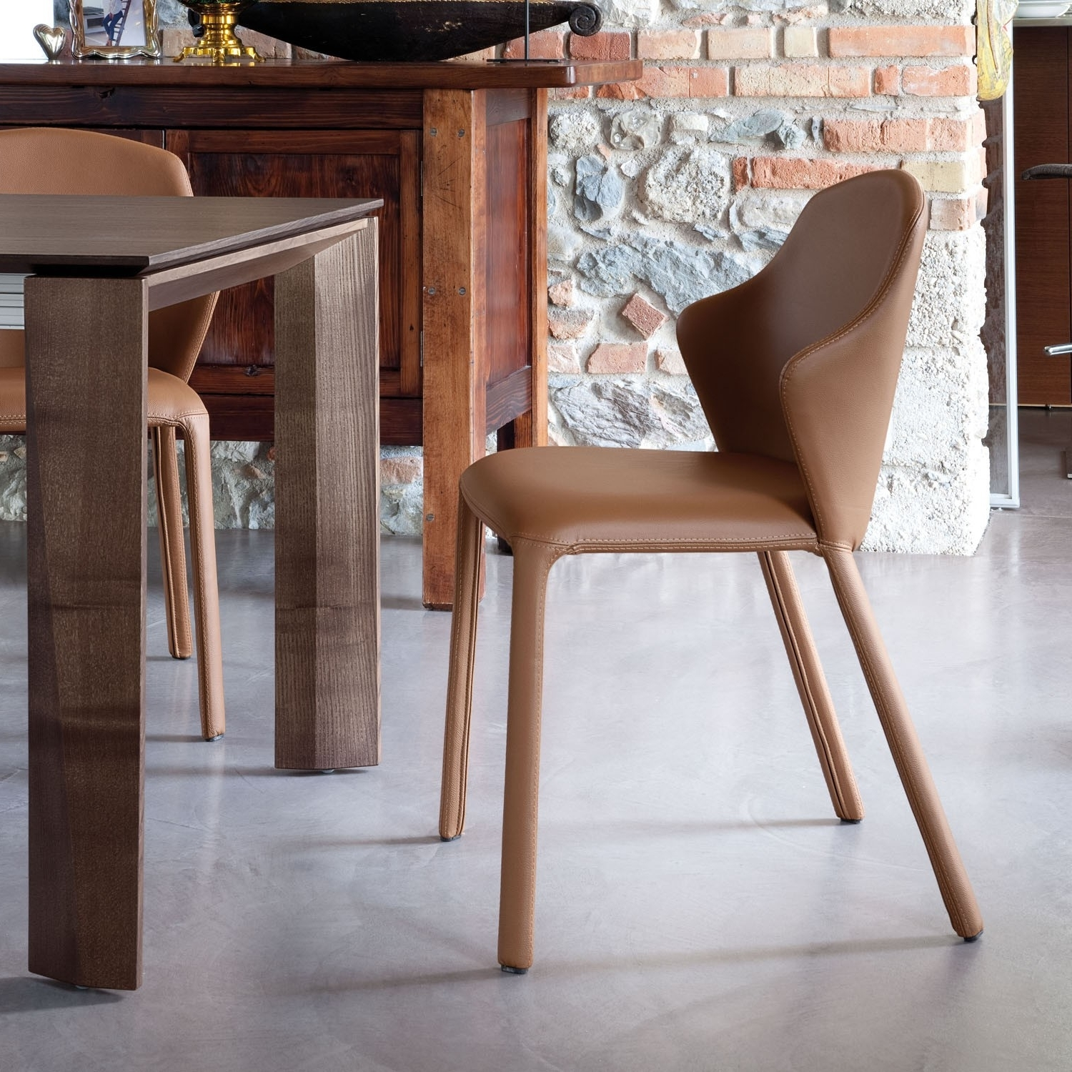 Top 10 Modern Upholstered Dining Chairs Regarding Recent Dom Side Chairs (View 2 of 20)