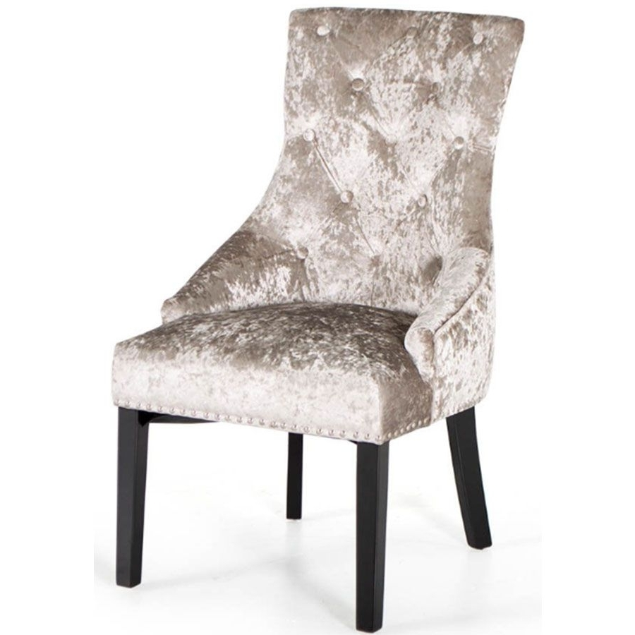 Trendy Garten Marble Skirted Side Chairs Set Of 2 Throughout Vida Living Arianna Marble Dining Set (View 18 of 20)