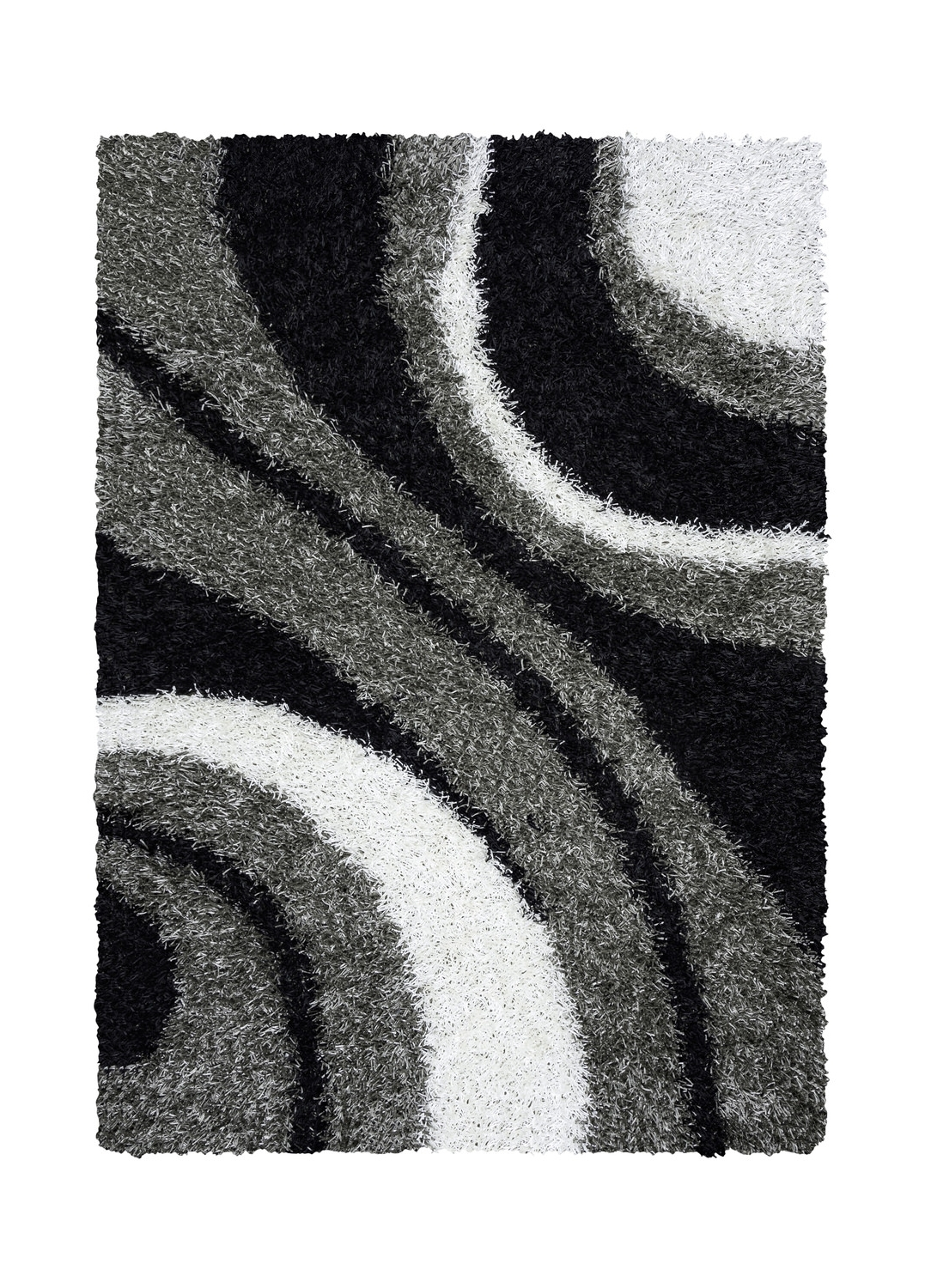 Trendy Kempton Black/ White Area Rugrizzy Rugs (View 19 of 20)
