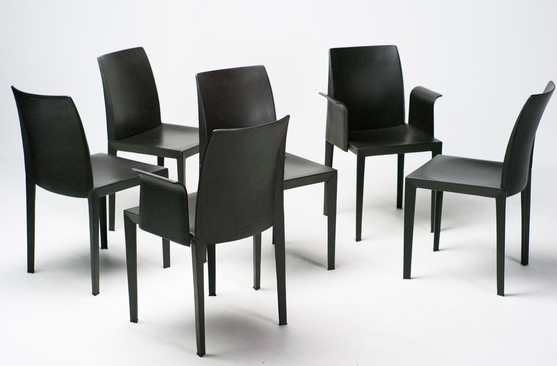 Trendy Lola Side Chairs Inside Lola Dining Chairsluigi Cerri For Poltrona Frau, Set Of 6 For (View 17 of 20)