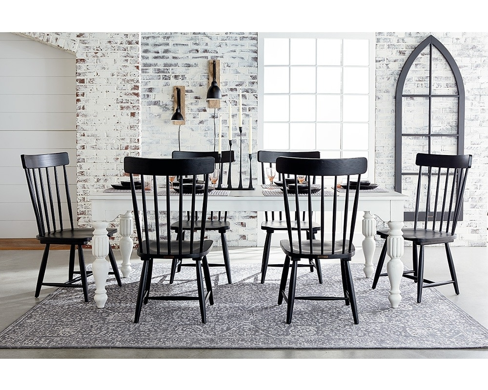 Trendy Magnolia Home Spindle Back Side Chairs Intended For Wellborn + Spindle Back – Magnolia Home (View 5 of 20)