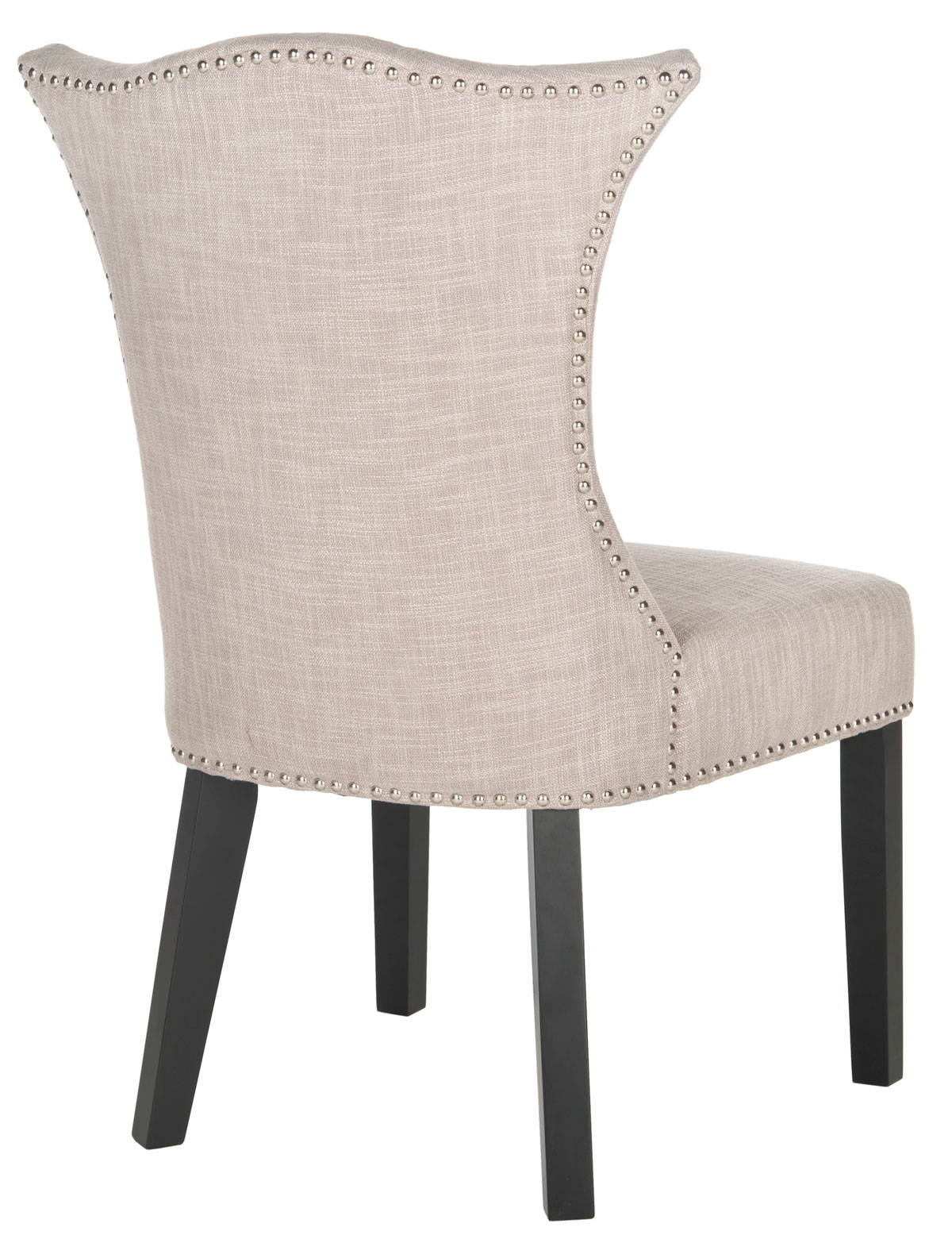 Trendy Mcr4717a Set2 Dining Chairs – Furnituresafavieh In Caira Black Upholstered Side Chairs (View 15 of 20)