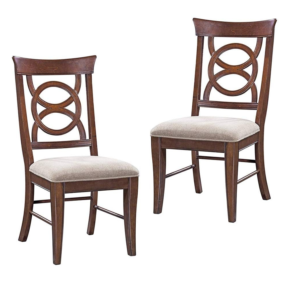 Trendy Orion Side Chairs For Amazon: Furniture At Home 124 Cobot Collection Side Chair, Set (View 17 of 20)