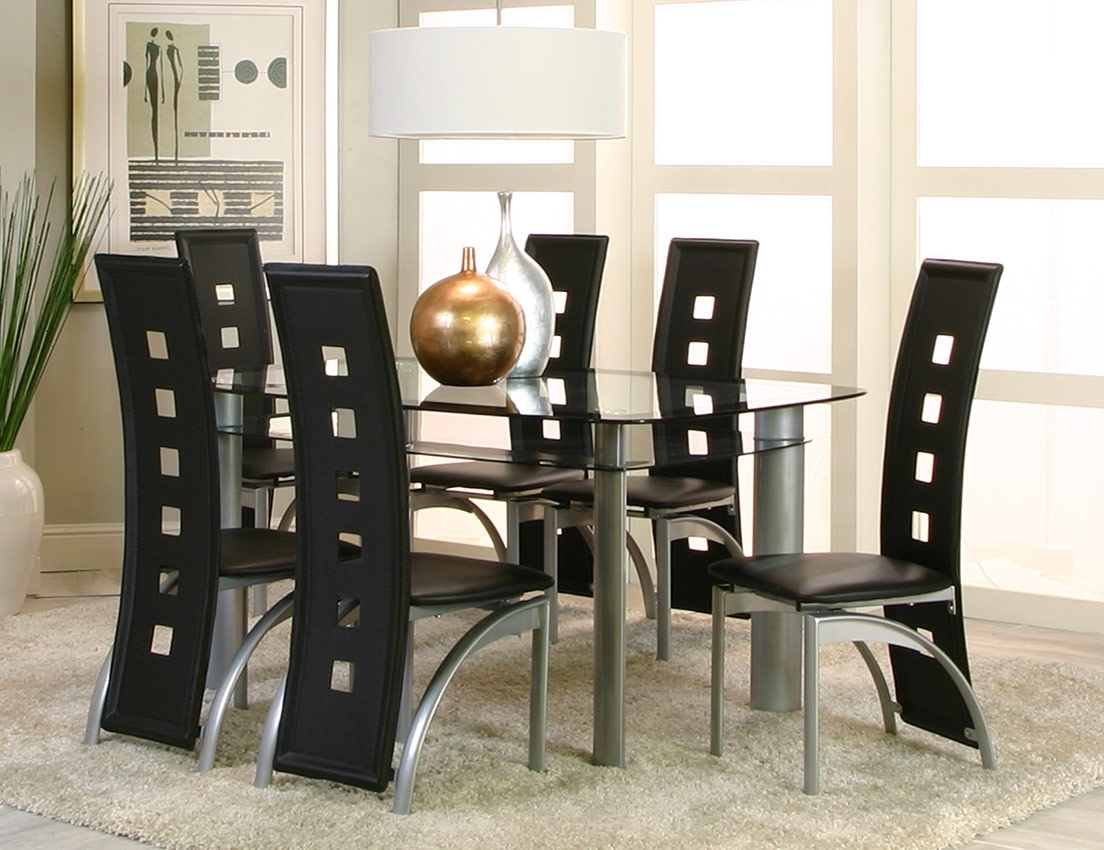 Trendy Valencia Side Chairs With Valencia Dining 7Pc Set (View 11 of 20)