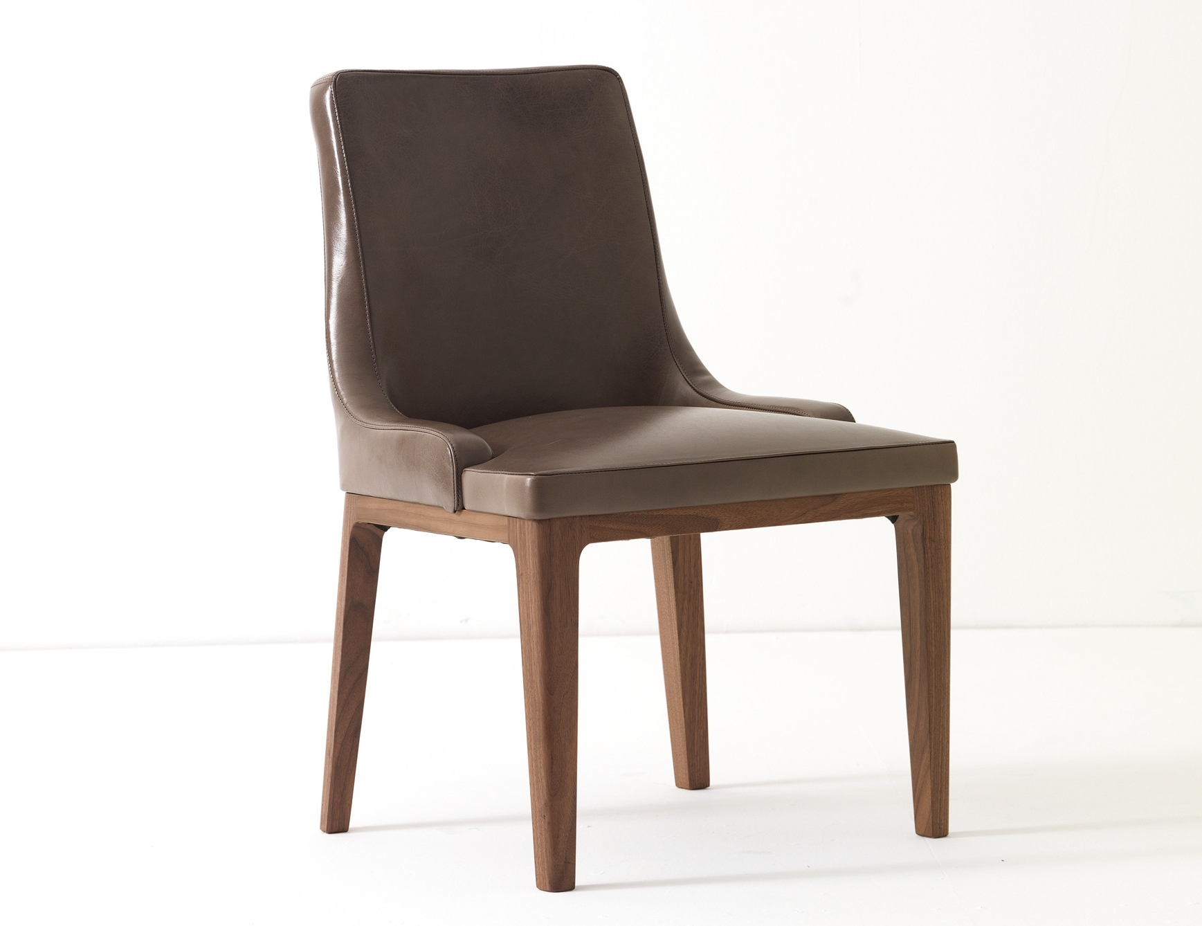 Ulivi Lola Brown Leather Dining Chair (View 18 of 20)