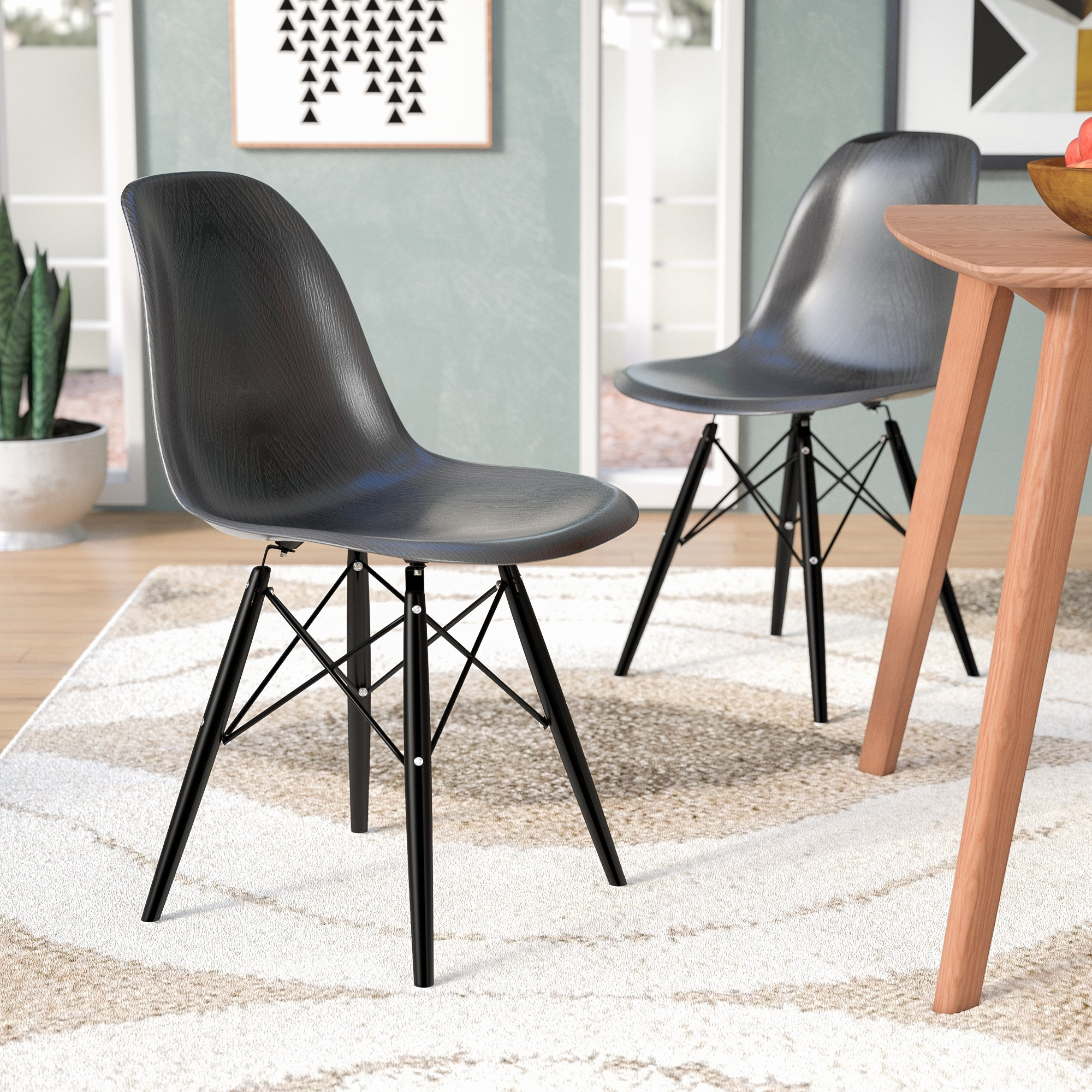 Wade Logan Lemoyne Side Chair & Reviews (View 8 of 20)