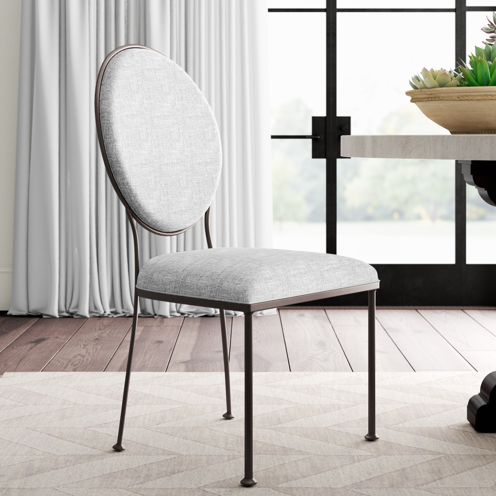 Wayfair Intended For Newest Caira Upholstered Arm Chairs (View 18 of 20)