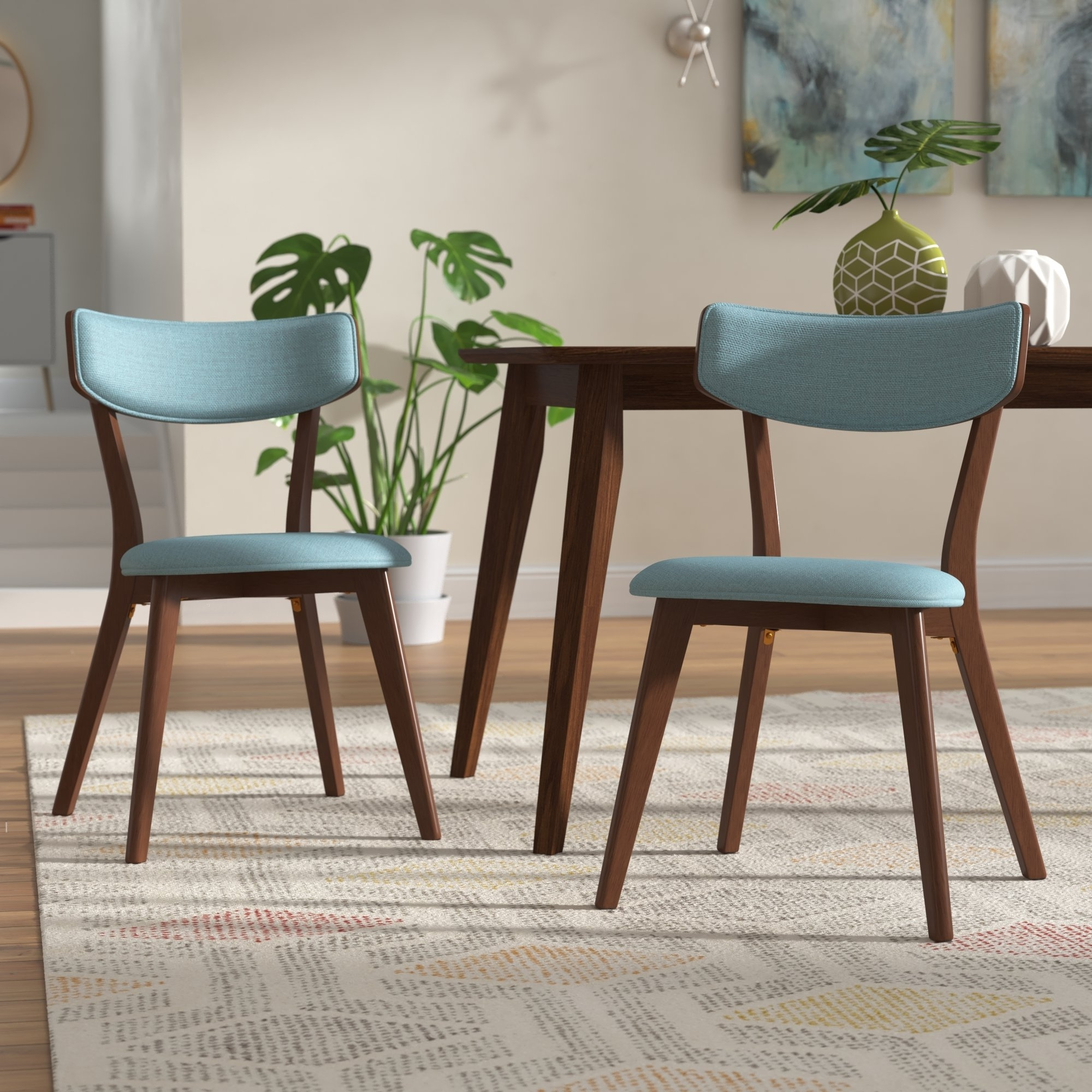 Wayfair With Regard To Fashionable Dining Chairs With Blue Loose Seat (View 18 of 20)