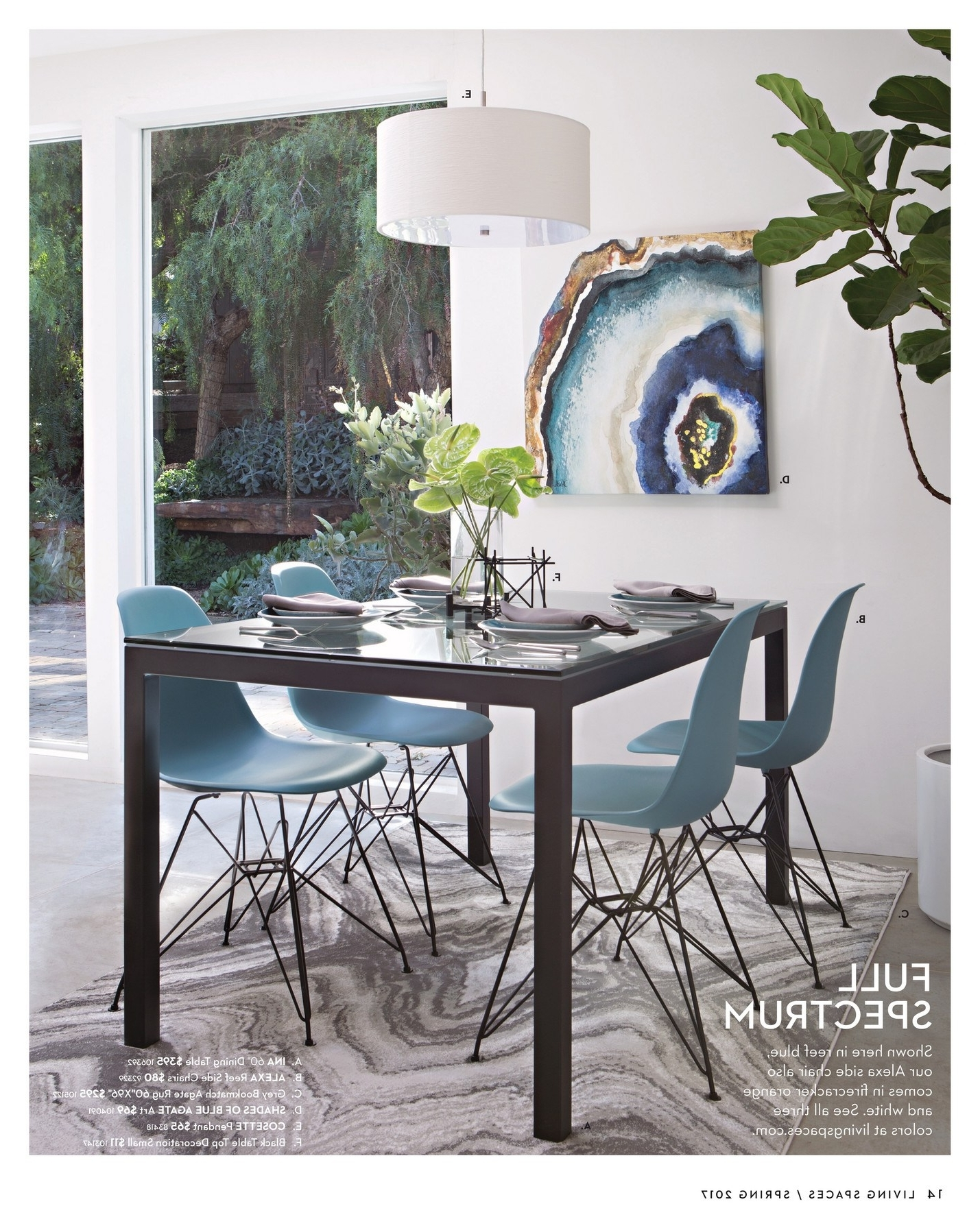 Well Known Alexa Firecracker Side Chairs With Shapely Living Spaces Table Set Diego Upholstered Side Chair Living (View 19 of 20)