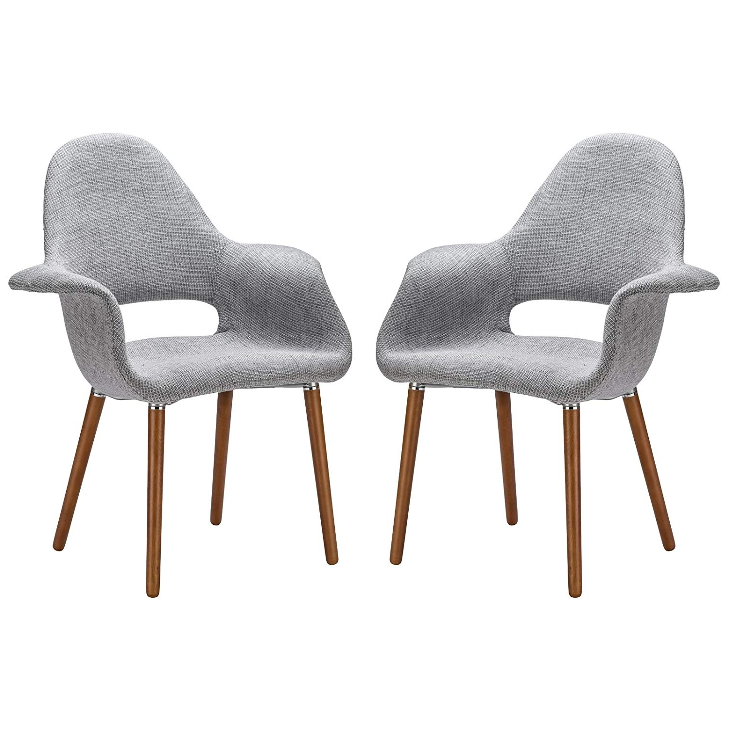 Well Known Alexa Grey Side Chairs Inside Amazon – Poly And Bark Barclay Dining Chair In Light Grey (Set (View 20 of 20)