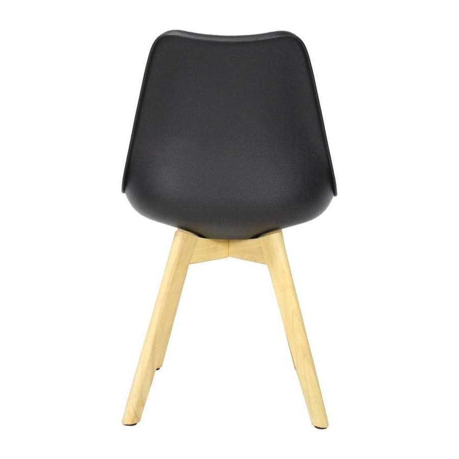 Well Known Caden Plastic Dining Chair Black – Shipped Within 24 Hours! – Furnwise With Caden Side Chairs (View 5 of 20)