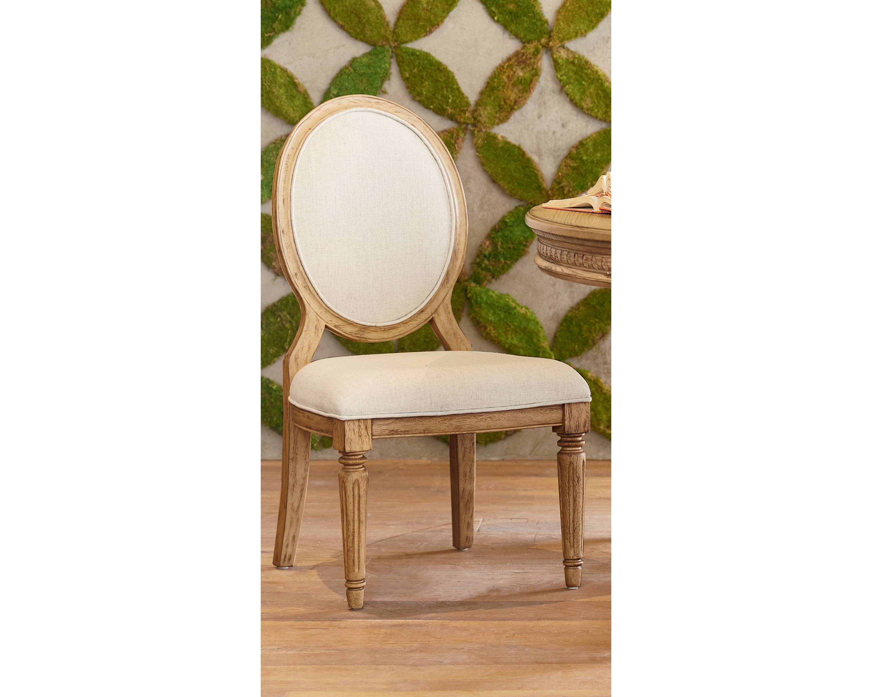 Well Known Emery Side Chair – Magnolia Home Pertaining To Magnolia Home Emery Ivory Burlap Side Chairs (View 2 of 20)