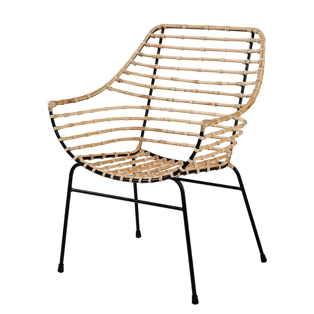 Well Known Magnolia Home Contour Milk Crate Side Chairs Inside Entwine Rattan Armchair – Seating – Magnolia Home (View 12 of 20)