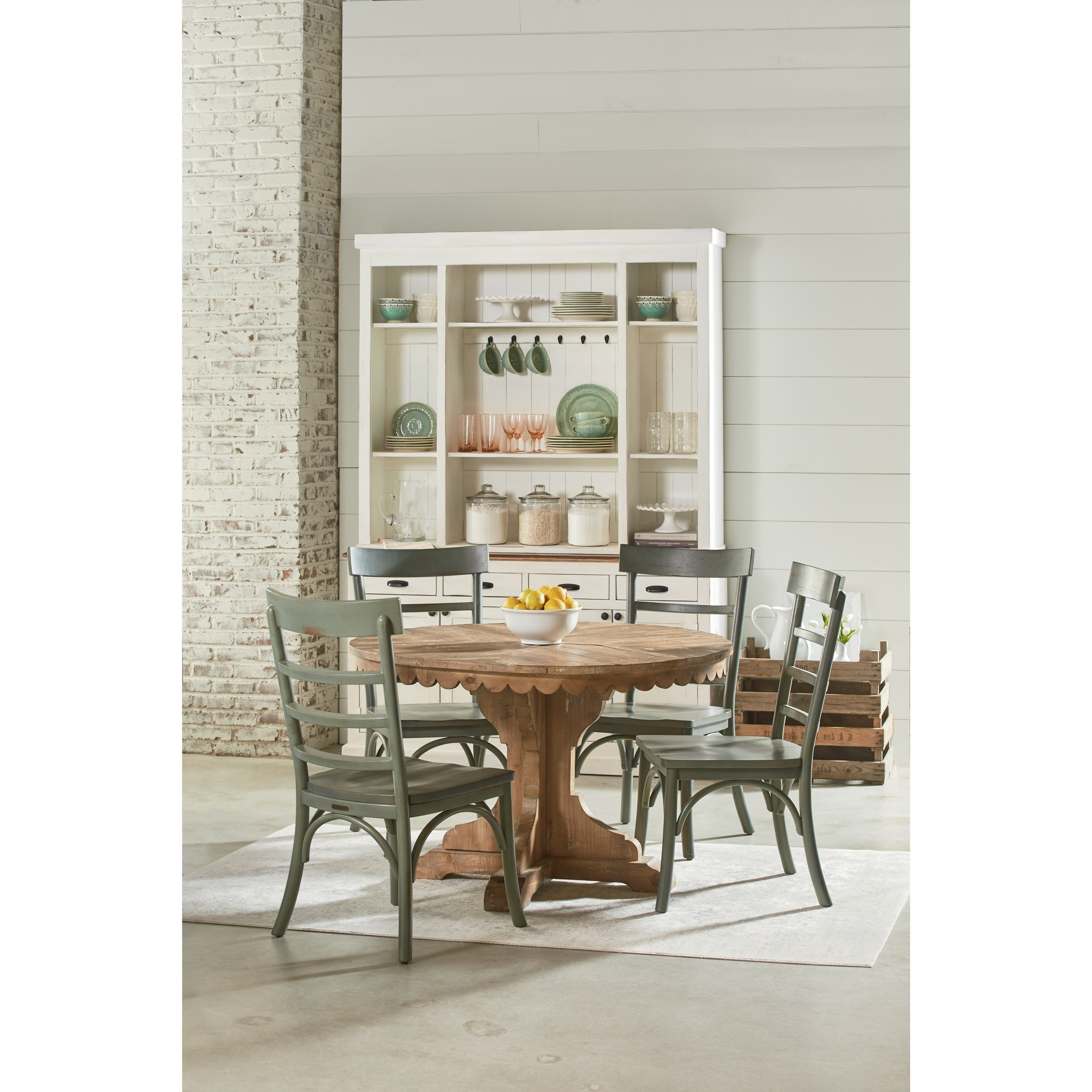 Well Known Magnolia Home Harper Patina Side Chairs Intended For Five Piece Round Table And Chair Setmagnolia Homejoanna (View 18 of 20)