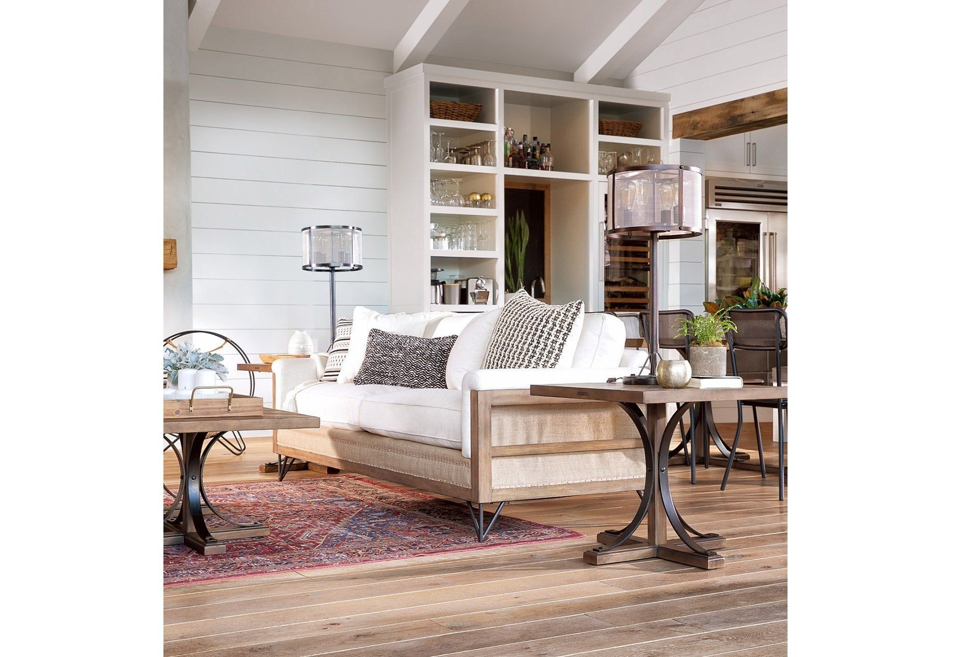 Well Known Magnolia Home Paradigm Sofajoanna Gaines (View 18 of 20)