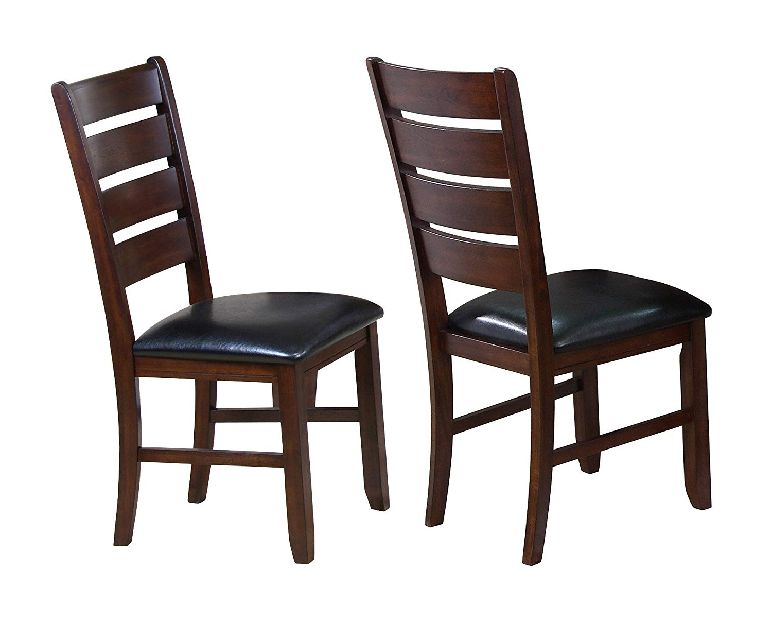 Well Liked Amazon – Crown Mark 2152 Bardstown Side Chair, Espresso, 2 Per Inside Bardstown Side Chairs (View 5 of 20)