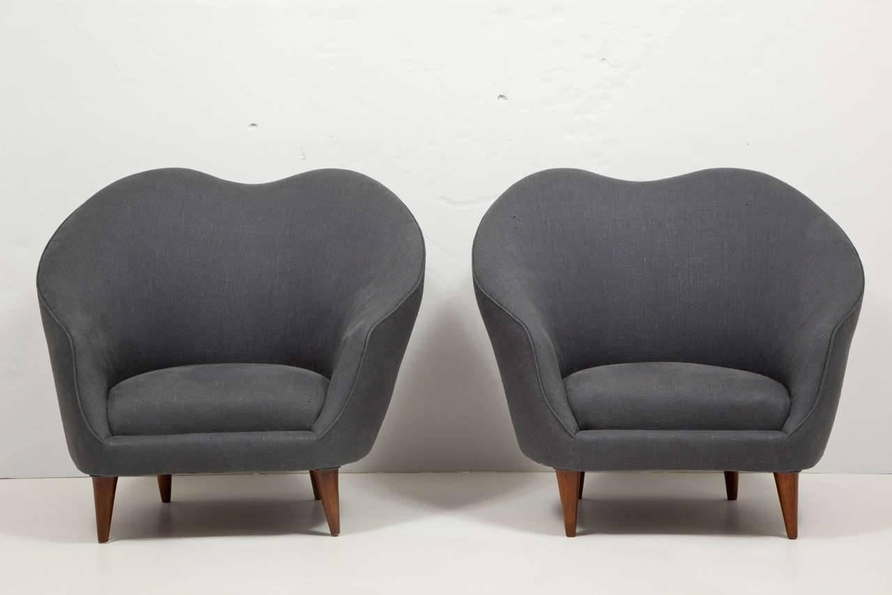 Well Liked Pair Of Upholstered Armchairsfederico Munari – Caira Mandaglio Inside Caira Upholstered Arm Chairs (View 20 of 20)