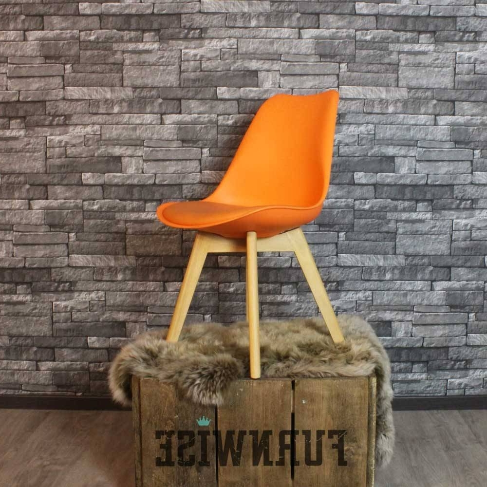 Widely Used Caden Side Chairs With Caden Plastic Dining Chair Orange – Shipped Within 24 Hours! – Furnwise (View 15 of 20)
