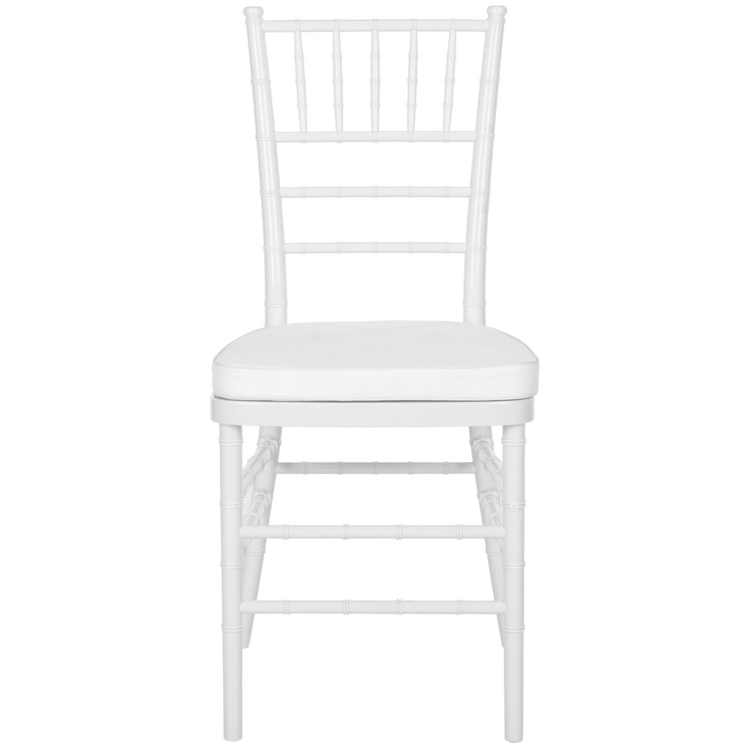 Widely Used Carly Side Chairs In Shop Safavieh Country Classic Dining Carly White Indoor/outdoor (View 20 of 20)