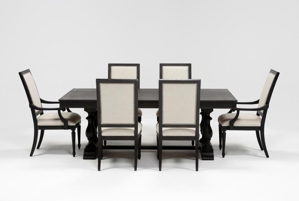 Widely Used Chapleau Side Chairs Throughout Chapleau 7 Piece Extension Dining Set (View 20 of 20)