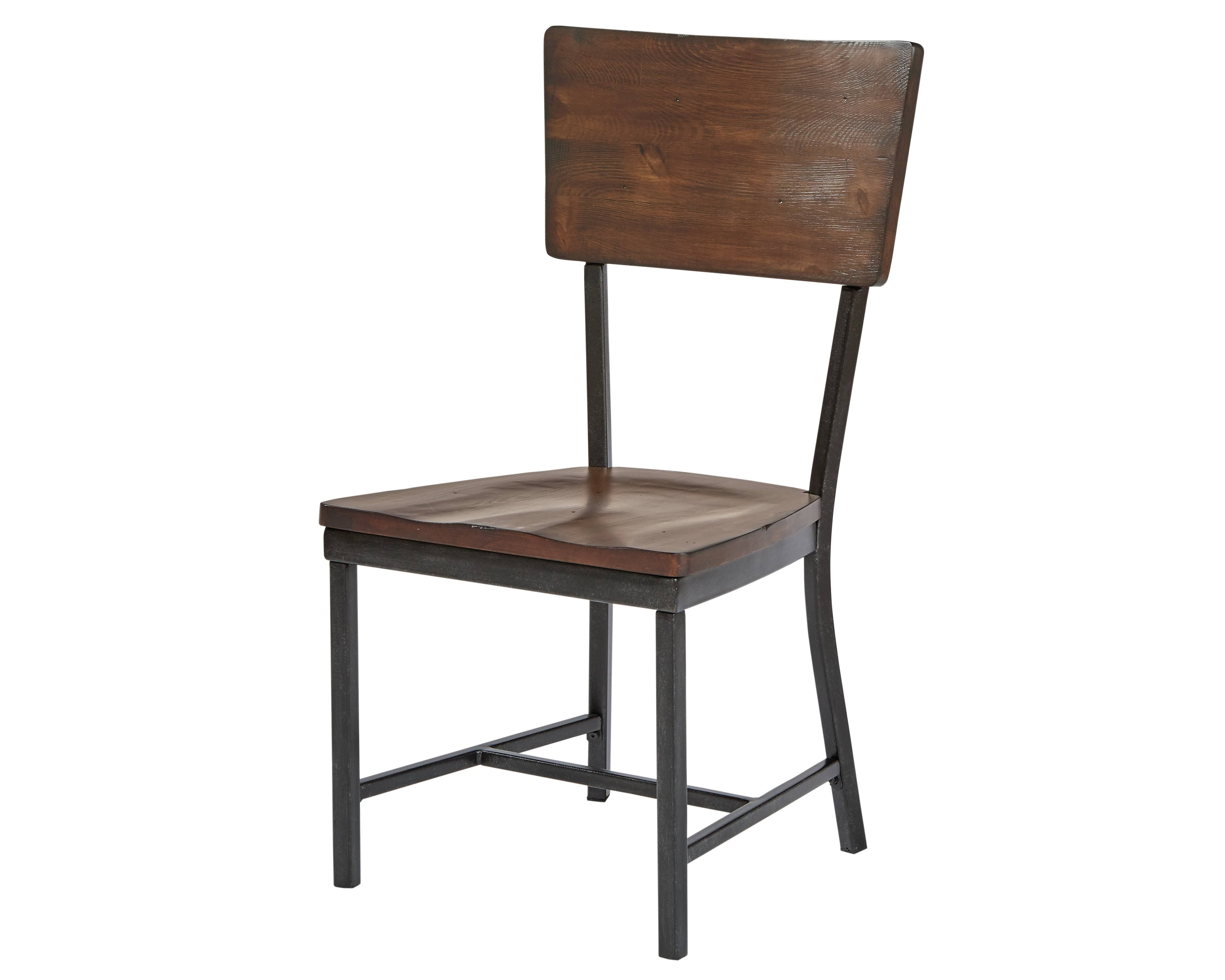 Widely Used Magnolia Home Demi Flannel Wing Side Chairs With Regard To Industrial Dining With Demi Wing Chairs – Magnolia Home (View 15 of 20)