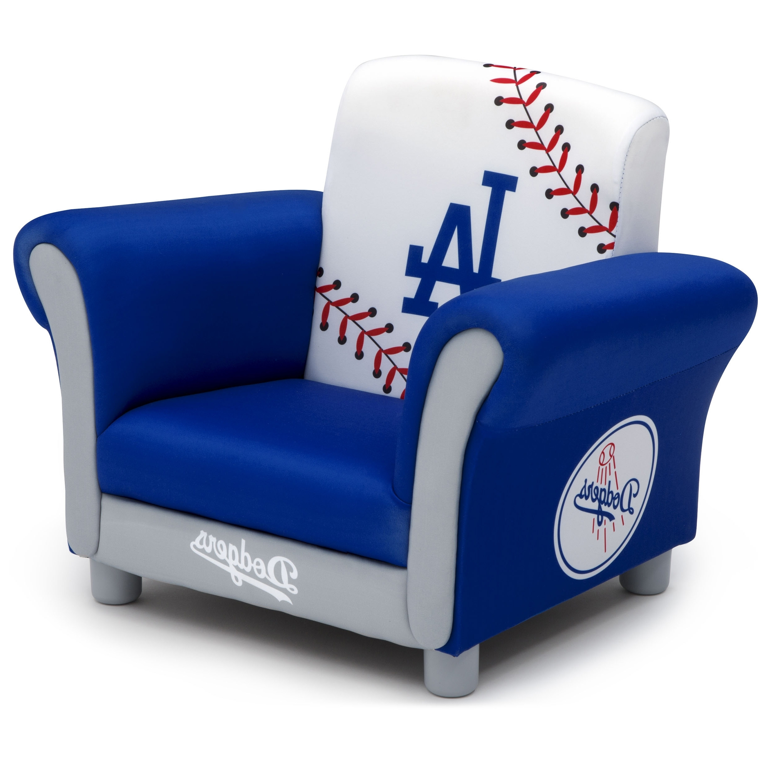 Widely Used Mlb Los Angeles Dodgers Kids Upholstered Chairdelta Children With Dodger Side Chairs (View 20 of 20)