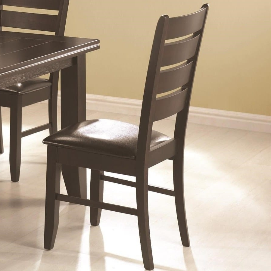 Widely Used Omni Side Chairs Regarding Page Contemporary Slat Back Dining Side Chair With Upholstered Seat (View 19 of 20)