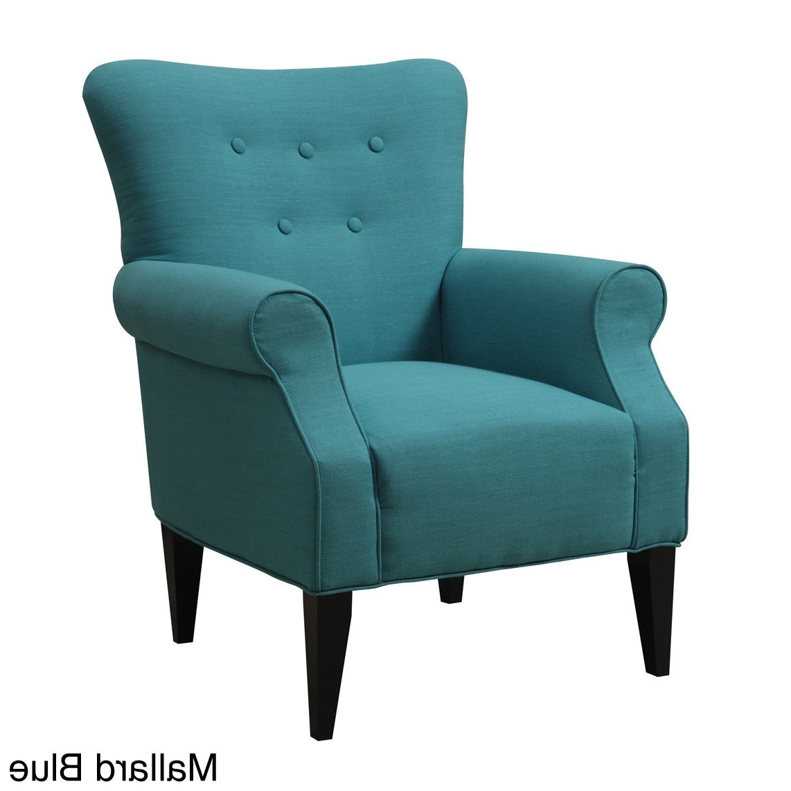 Widely Used Shop Emerald Lydia Accent Chair – Free Shipping Today – Overstock With Regard To Mallard Side Chairs With Cushion (View 17 of 20)