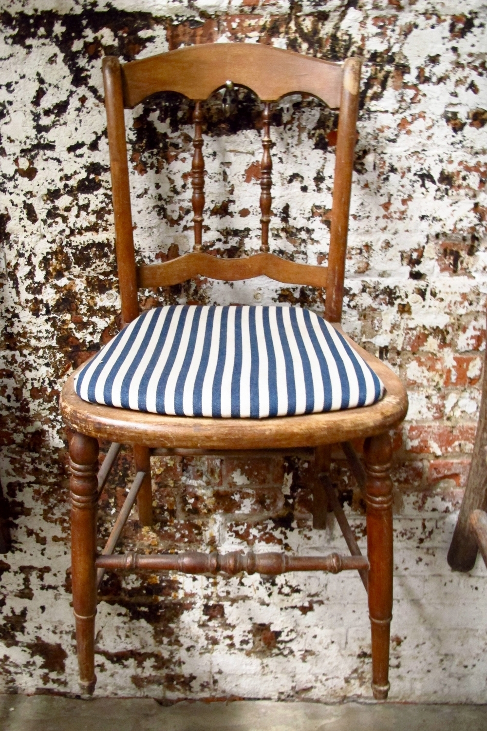 Wood Seating — Primate Props Throughout Famous Blue Stripe Dining Chairs (View 20 of 20)