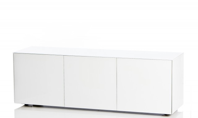 "150Cm Tv Units In Newest Marvel – 70"" White Gloss Tv Cabinet – Fishpools (View 19 of 20)"