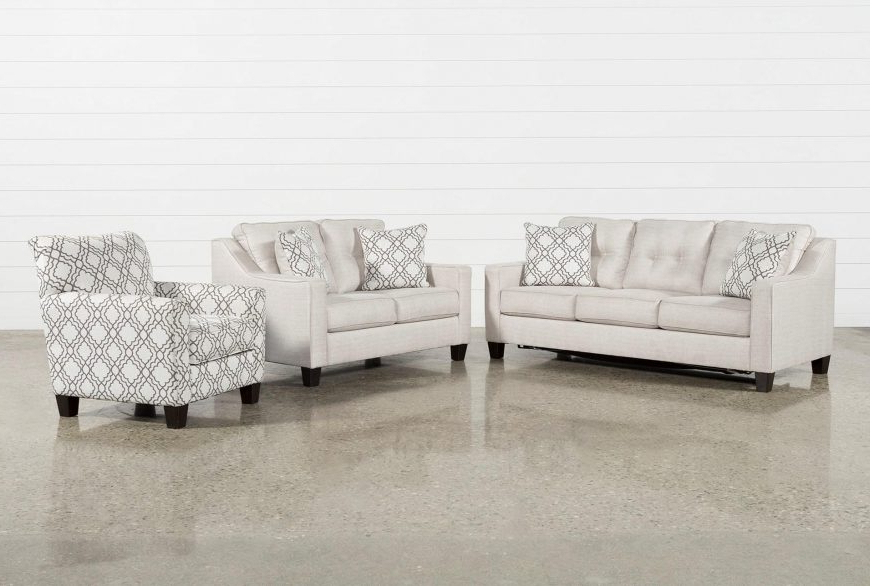 2017 3 Piece Living Room Set Casta Products Pinterest Sofa And Small In Mcdade Ash Sofa Chairs (View 5 of 20)