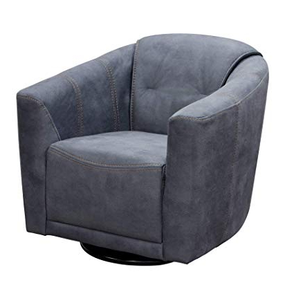 2017 Amazon: Diamond Sofa Murphy Swivel Accent Chair In Gray: Kitchen With Regard To Harbor Grey Swivel Accent Chairs (View 1 of 20)