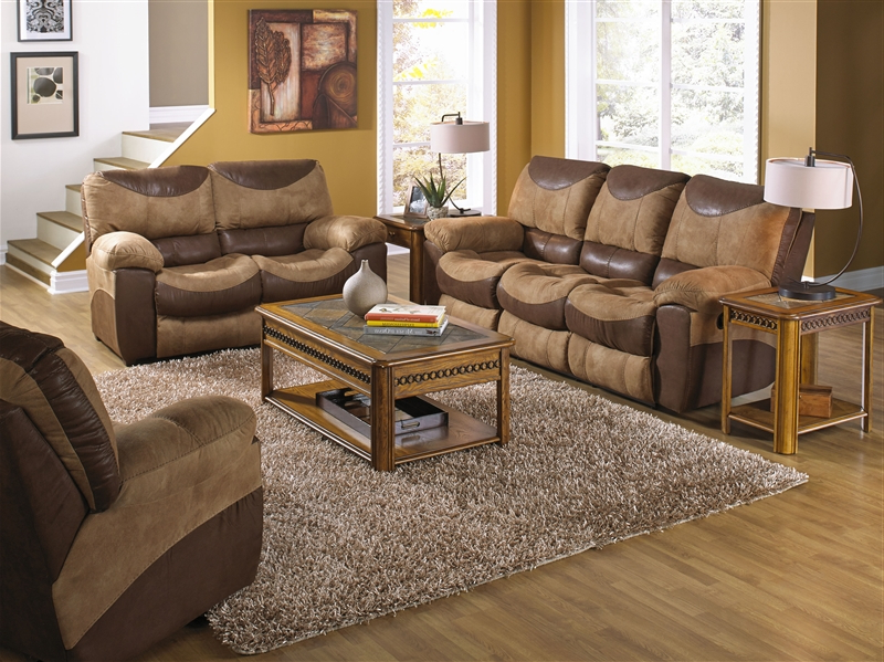 2017 Sofa Loveseat And Chairs In Portman 2 Piece Reclining Sofa, Reclining Loveseat Set In Two Tone (Gallery 6 of 20)
