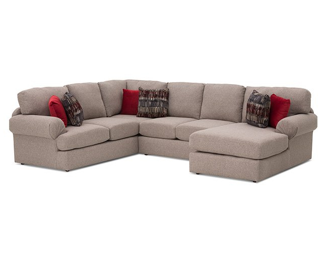 2017 Sofa Mart Chairs With Regard To Southport Ii 3 Pc. Sectional – Furniture Row (Gallery 10 of 20)