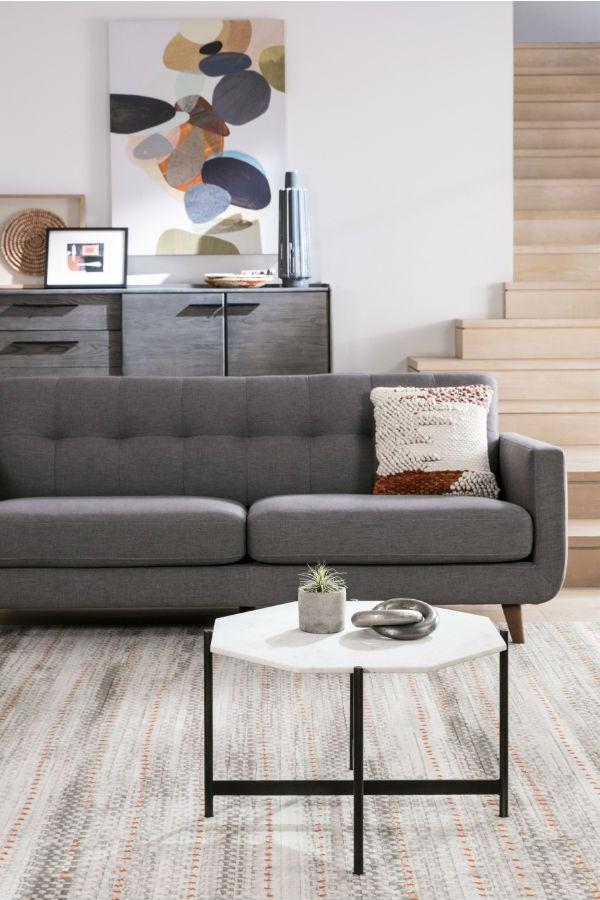2018 Allie Dark Grey Sofa Chairs With Regard To Allie Dark Grey Sofa (View 2 of 20)
