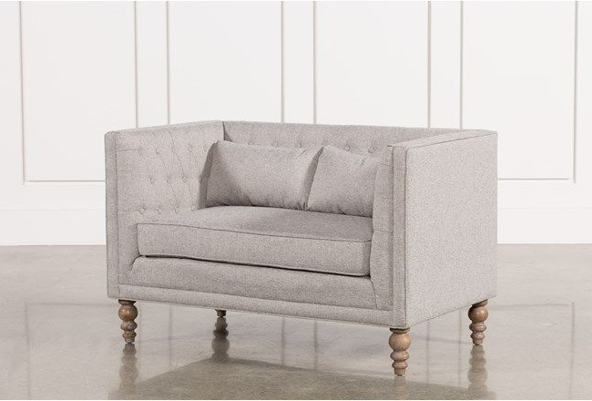 2018 Mcdade Ash Sofa Chairs Intended For Evelyn Settee (View 8 of 20)