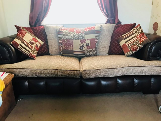 3 Seater Sofa Cuddle Chair – Local Classifieds, For Sale In The Uk With 2018 3 Seater Sofa And Cuddle Chairs (View 11 of 20)