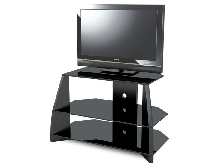"32 Inch Tv Stands In Most Current Stil Stand Gloss Black Wooden Tv Stand Up To 32"" Stuk2040 Bl Suits (View 19 of 20)"