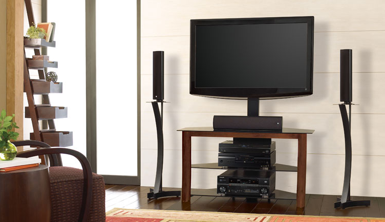 "42"" Bell'o Triple Play™ Universal Flat Panel A/v Entertainment Center Pertaining To Fashionable Bell O Triple Play Tv Stands (View 2 of 20)"