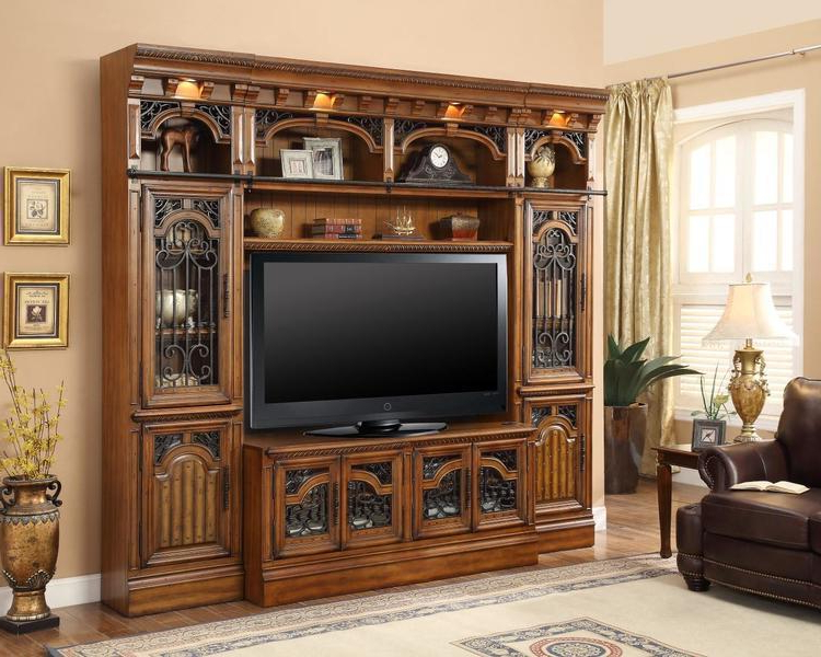 60 Inch Tv Wall Units Regarding Most Recently Released The Barcelona 60 Inch Tv Wall Unit – Office Furniture, Home Office (View 3 of 20)
