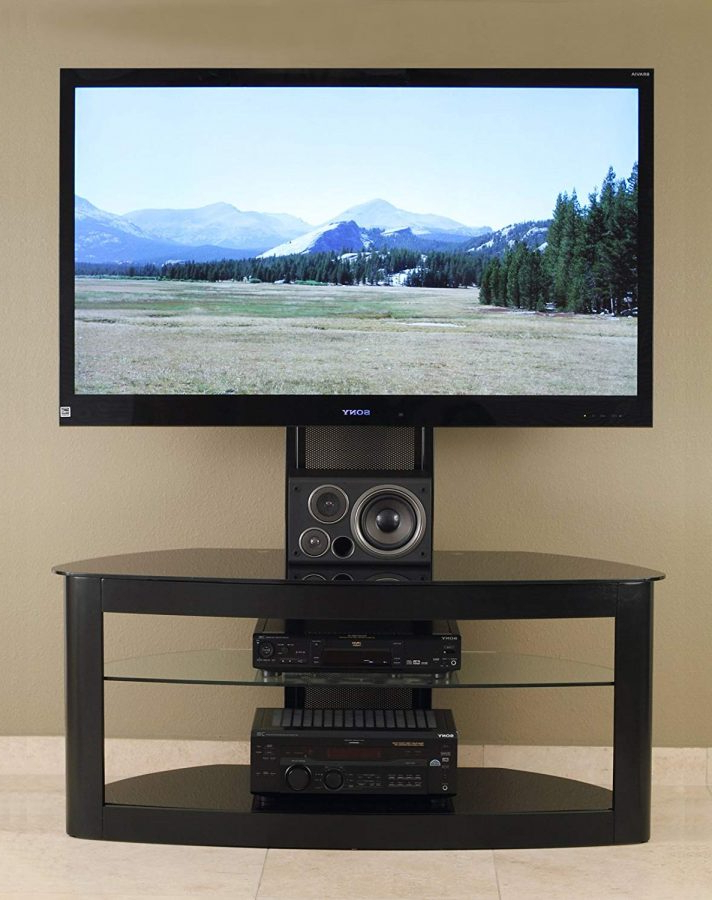65 Inch Tv Stands With Integrated Mount Intended For Trendy Z Line Mounting Kit Modern Tv Console Design Designs Entertainment (Gallery 6 of 20)