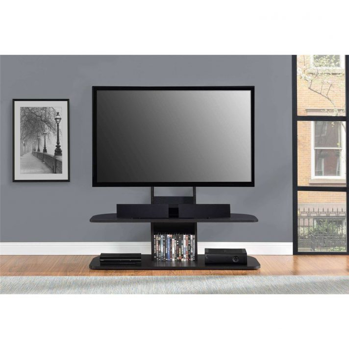 65 Inch Tv Stands With Integrated Mount Within Recent Ollieroo Swivel Floor Tv Stand With Mount Fitueyes For 32 65 Inch (View 7 of 20)