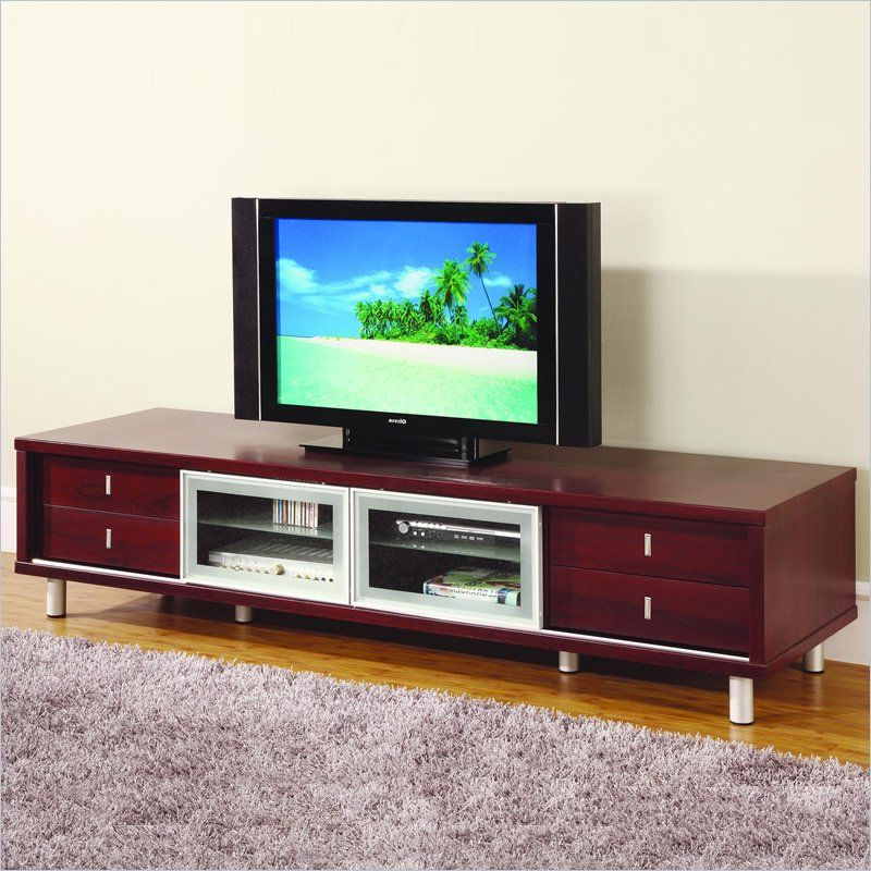 84 Inch Tv Stands Throughout Preferred Global Furniture Usa 84 Inch Tv Cabinet In Mahogany – M722Tv M (Gallery 8 of 20)