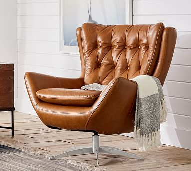 A Swivel Chair Couldn't Get More Inviting Than This (View 11 of 20)