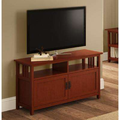 Abbot 60 Inch Tv Stands Pertaining To Preferred Mission – Tv Stands – Living Room Furniture – The Home Depot (View 3 of 20)