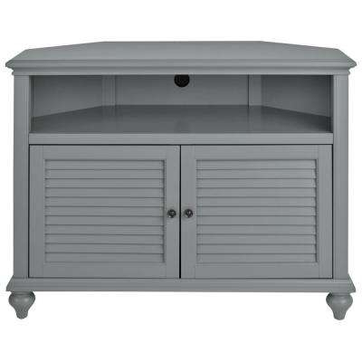 Abbott Driftwood 60 Inch Tv Stands Inside Trendy Gray – Tv Stands – Living Room Furniture – The Home Depot (View 6 of 20)