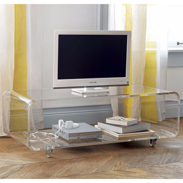 Acrylic Tv Stands Intended For 2017 China Acrylic Tv Stand From Shenzhen Manufacturer: Shenzhen Haoyu (View 6 of 20)